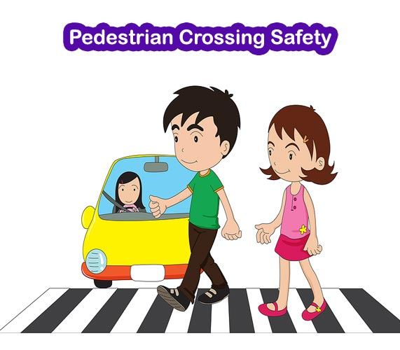 Teach The Importance Of Road Safety To Children At Schools With.. Royalty  Free Cliparts, Vectors, And Stock Illustration. Image 45954582.